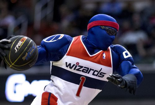 G Man Washington Wizards