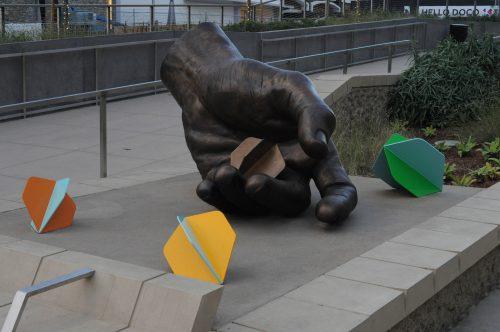 Sculptures Golden One Center