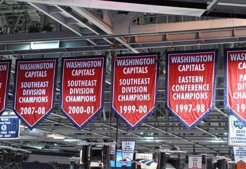 Washington Capitals banners