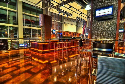Prudential Center Goal Bar