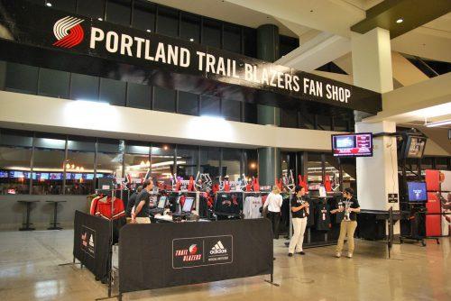 Portland Trail Blazers fan shop