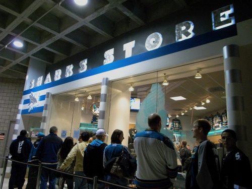 San Jose Sharks store