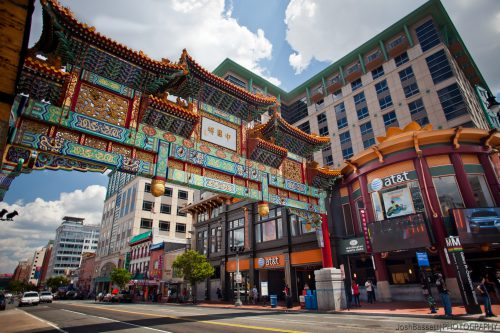 Chinatown Gateway Washington Capitals