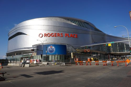 Rogers Place outside