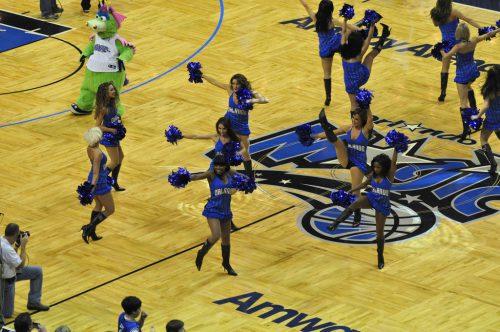 Orlando Magic dancers