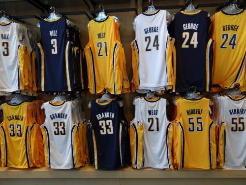 Indiana Pacers Jerseys Bankers Life Fieldhouse