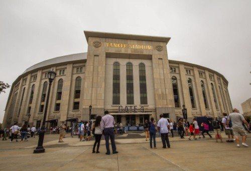 Yankee Stadium Facade