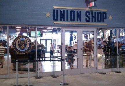 Philadelphia union Team Shop