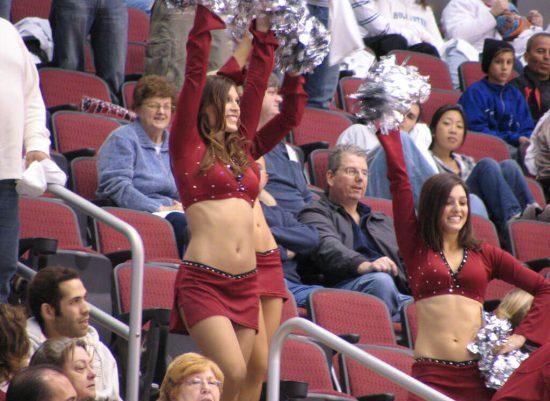 Arizona Coyotes cheerleaders