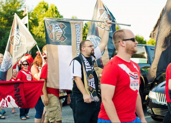 Atlanta United FC tailgating