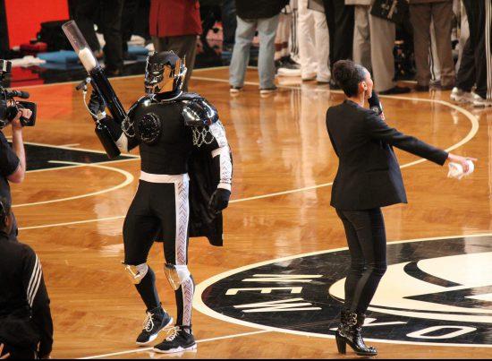 Brooklyn Nets show entertainment