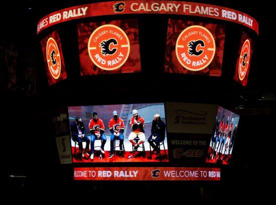 Calgary Flames scoreboard