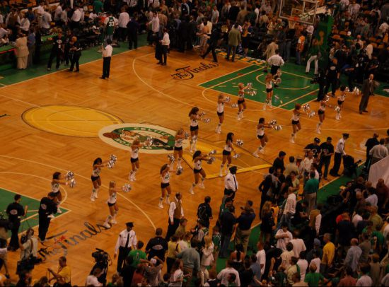 Boston Celtics Postgame dancers