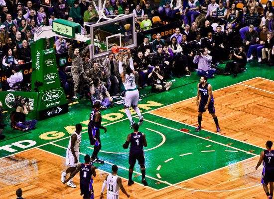 Jared Sullinger Dunk Boston Celtics