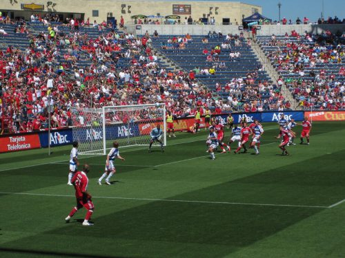 FC Dallas vs Fire soccer game