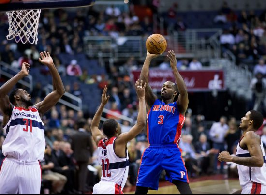 Detroit Pistons vs Washington Wizards game