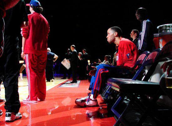 Detroit Pistons Tayshaun Prince