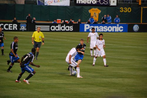 Earthquakes vs Galaxy soccer game