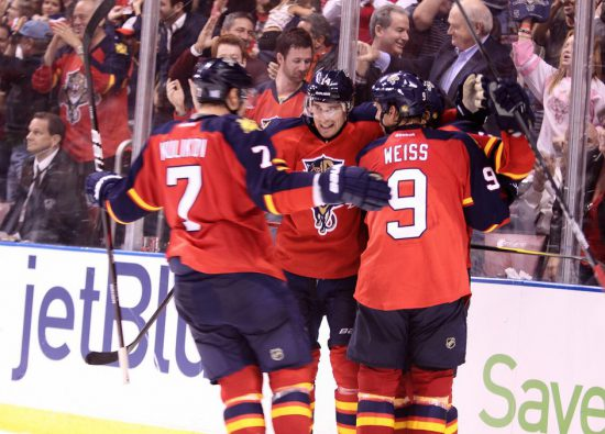 Florida Panthers hockey players