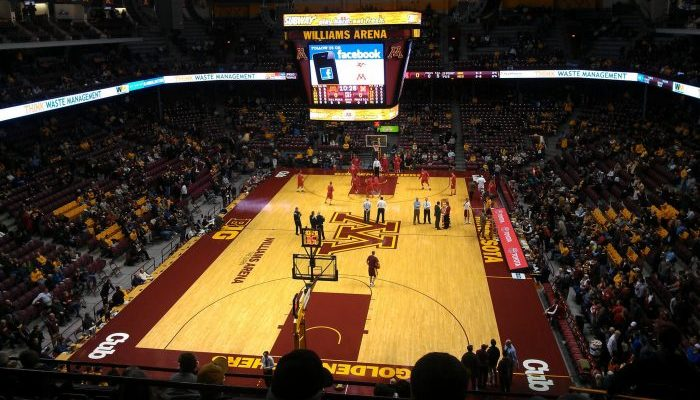 Williams Arena Minnesota Golden Gophers