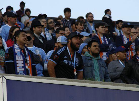 NYFC vs Montreal soccer Yankee Stadium