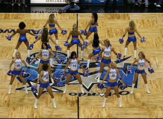 Orlando Magic girls dancers