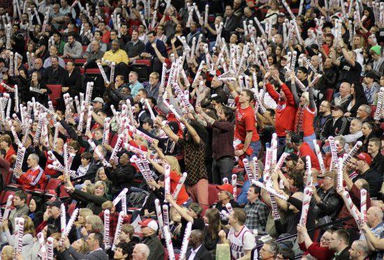 Portland Trail Blazers fans
