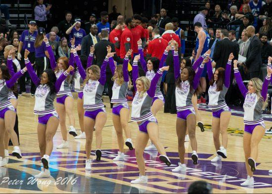 Sacramento Kings cheerleaders