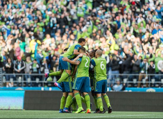 Seattle Sounders Celebration