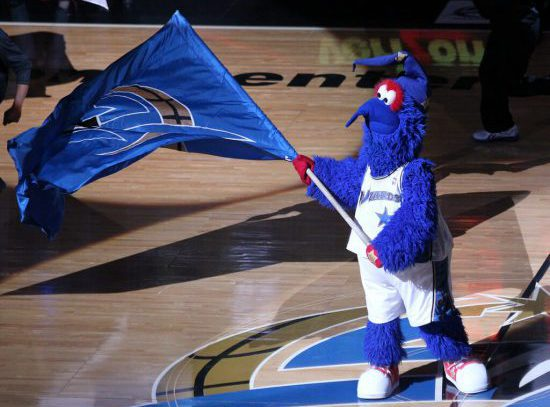 Washington Wizards mascot G Wiz