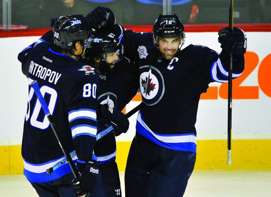 Winnipeg Jets hockey players