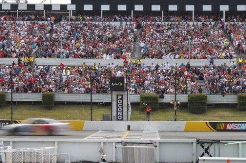 Pocono Raceway Halftime Blockparty