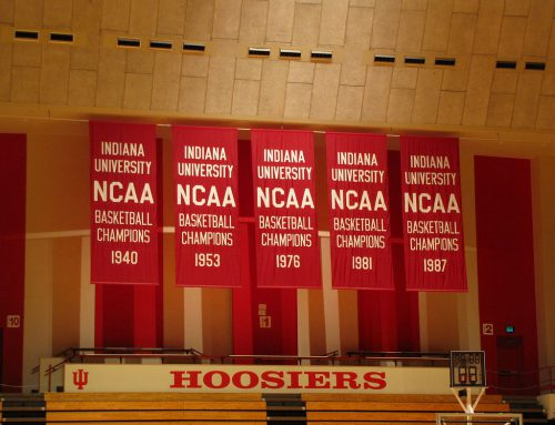 Indiana Assembly Hall banners