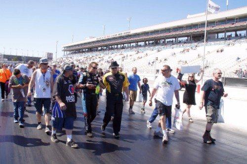 Atlanta Motor Speedway Track Walk