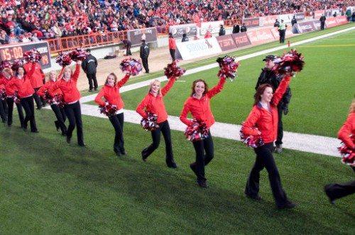 Calgary Stampeders Outsiders Cheerleaders