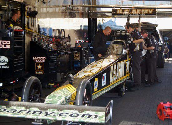 Auto Club Raceway at Pomona Garage