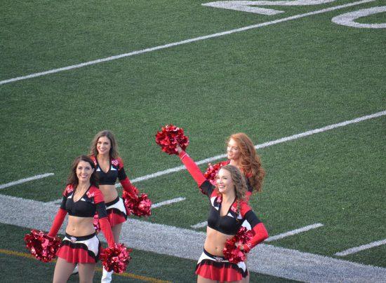 Calgary Stampeders Cheerleaders