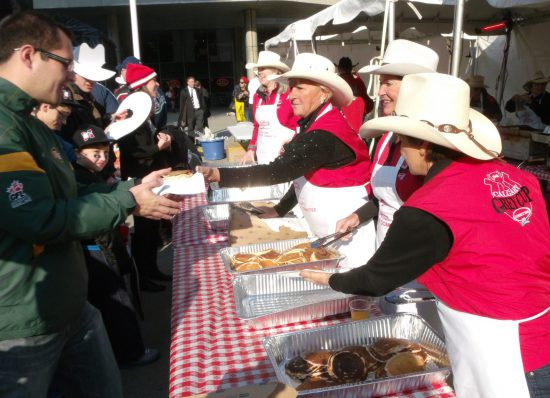 Calgary Stampeders Buffet Tailgate
