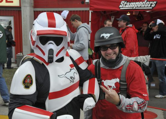 Calgary Stampeders Storm Trooper