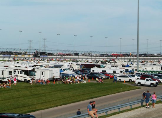 Chicagoland Speedway Camping