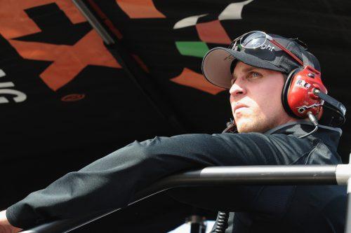 Denny Hamlin won STP 500