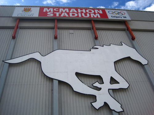 McMahon Stadium Logo
