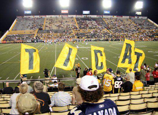 Hamilton Tiger-Cats Letter Banners