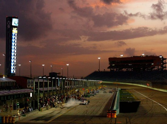 Homestead-Miami Speedway Sunset