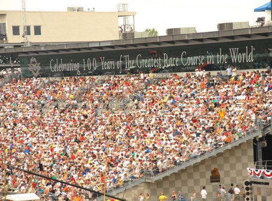 Indianapolis Motor Speedway Fans