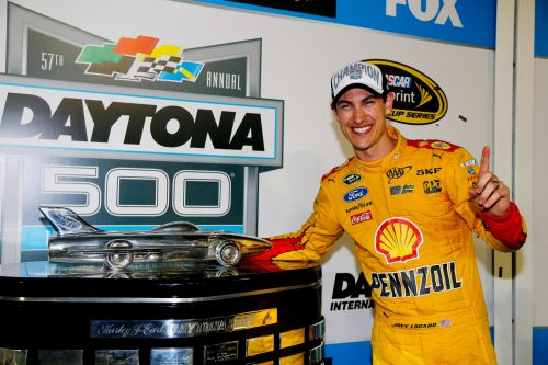 Joey Logano Daytona 500 winenr