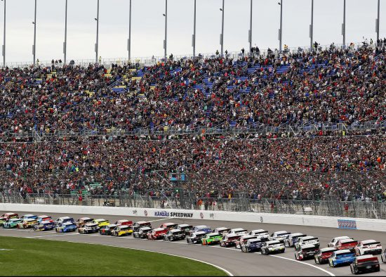 Kansas Speedway Racing and Fans