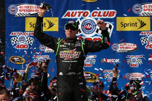 Kyle Busch Auto Club 400 2014 winner