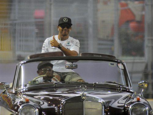 Lewis Hamilton United States Grand Prix 2014