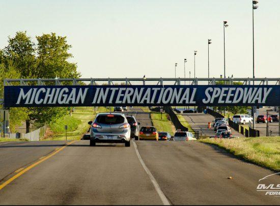 Michigan International Speedway Race Bridge